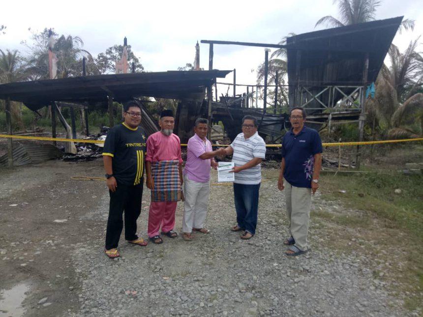 Nasib bekas tentera terbakar kediaman di Sessang dapat simpati banyak pihak