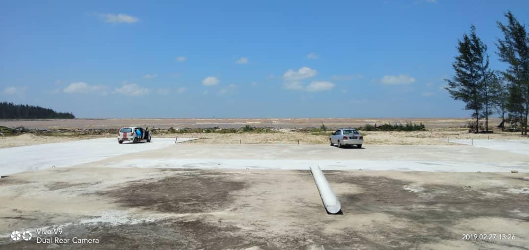Projek benteng hakisan pantai di Oya bakal dibina
