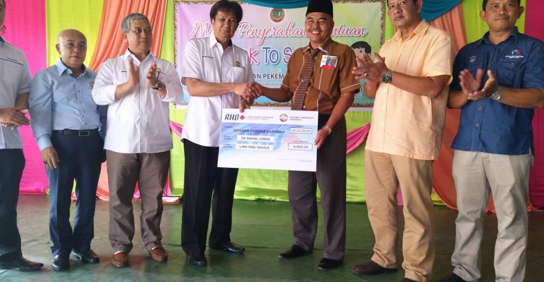 PEKEMA hulur bantuan untuk SK Abang Leman Kabong