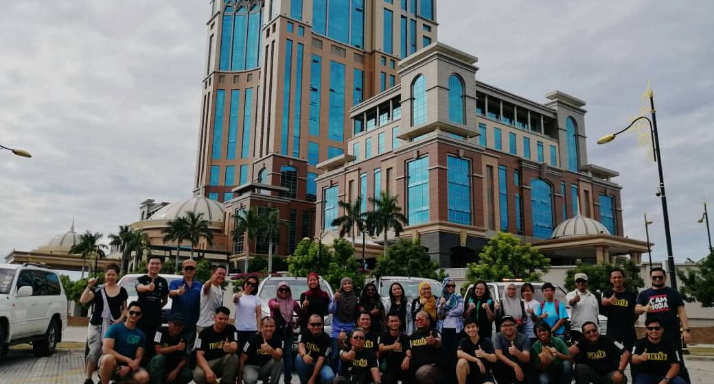 Wakil Sarawak sertai Ekspedisi Kembara Media ke Sabah