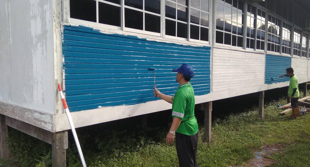 Guru SK Bawang Tian sanggup korban cuti demi sekolah