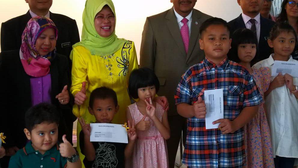 23 anak Sarawak akhirnya warganegara Malaysia