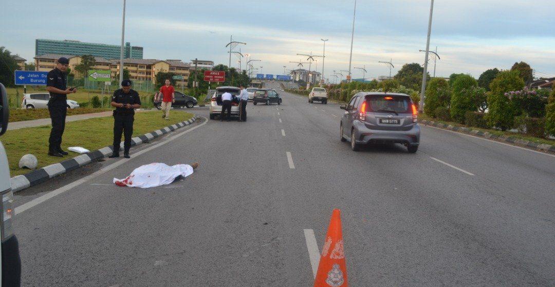 Penghantar surat khabar maut dilanggar BMW