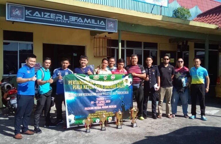 RMPD buka tirai pertandingan Bola Sepak Jemputan Piala Ketua Polis Daerah Dalat