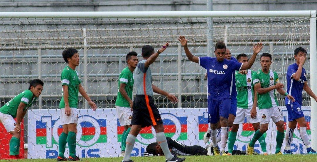 Gol minit ke-93 musnahkan impian suku akhir Kuching FA