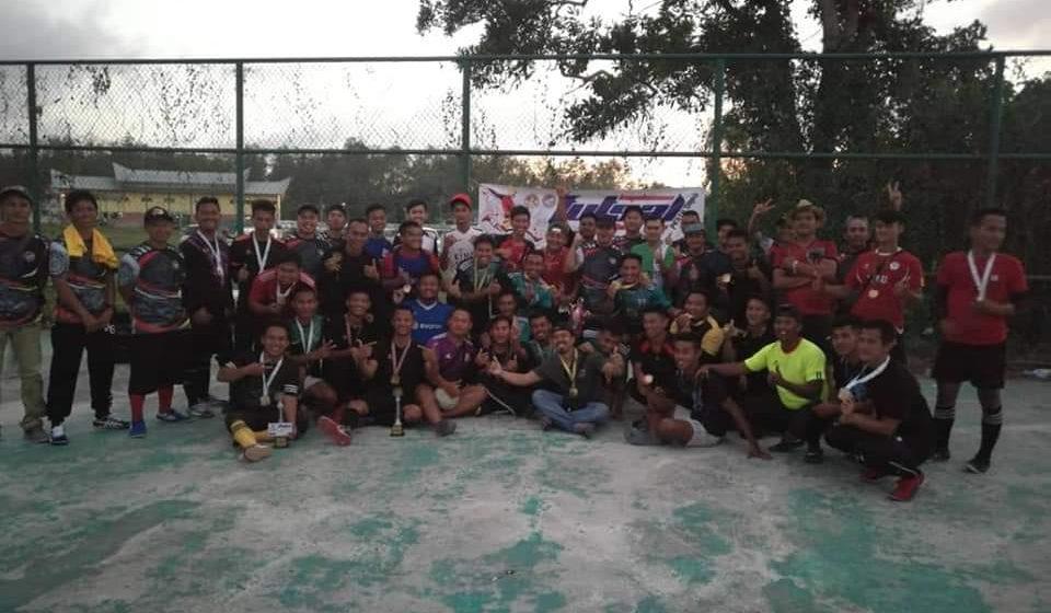 Bintang 11 juara Futsal Pesta Daro 2019