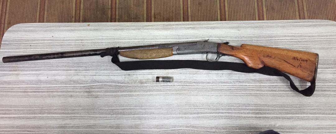 Lelaki ditahan miliki senapang patah buatan sendiri