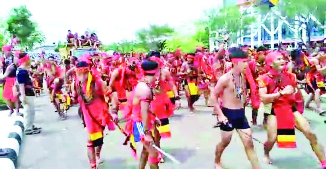 Raban pengabang Gawai Naik Dango 2019 diambat enggau penuh basa