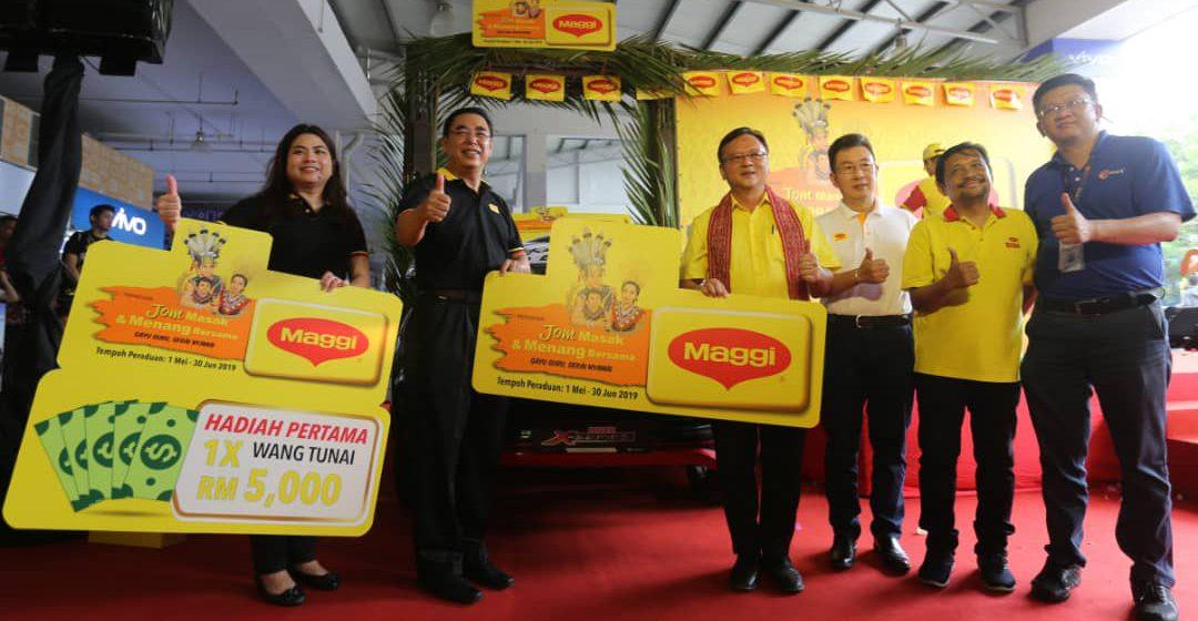 Peraduan 'Jom Masak & Menang Bersama MAGGI' tawar hadiah kereta Limited Edition Isuzu D-Max