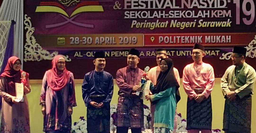 Farihah johan syarahan spontan Sarawak