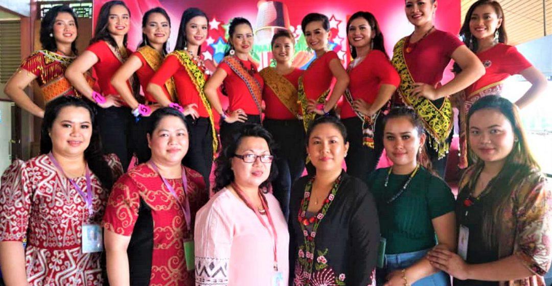 10 peserta Kumang Gawai berentap