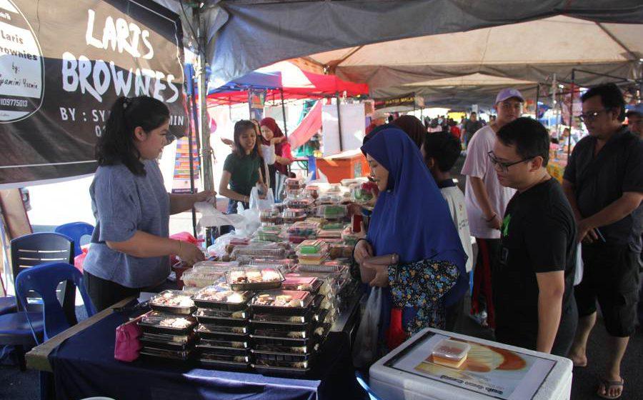 Tiga Bazar Ramadan DBKU beroperasi semula
