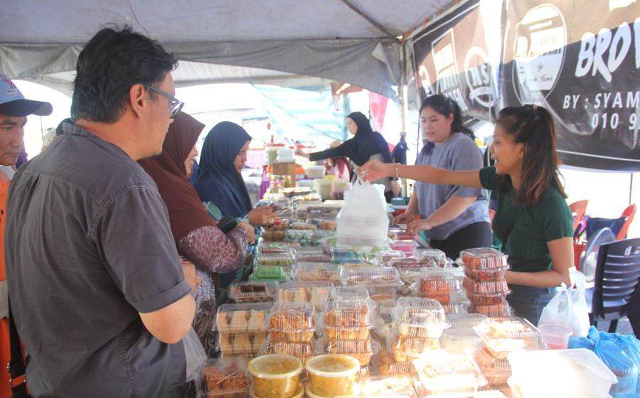 Bazar Ramadan dibuka berengkah 12 April tu