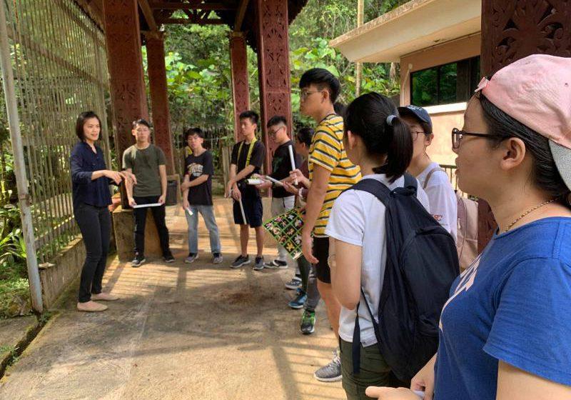 Didik pelajar pemuliharaan hidupan liar di Sarawak