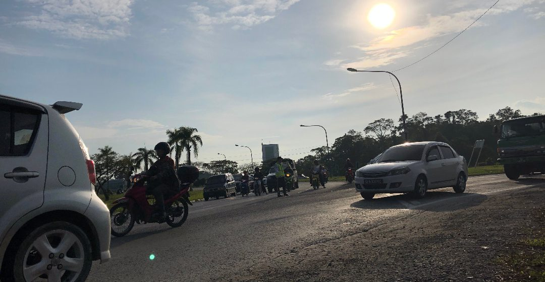 Mengatasi masalah trafik Kota Samarahan