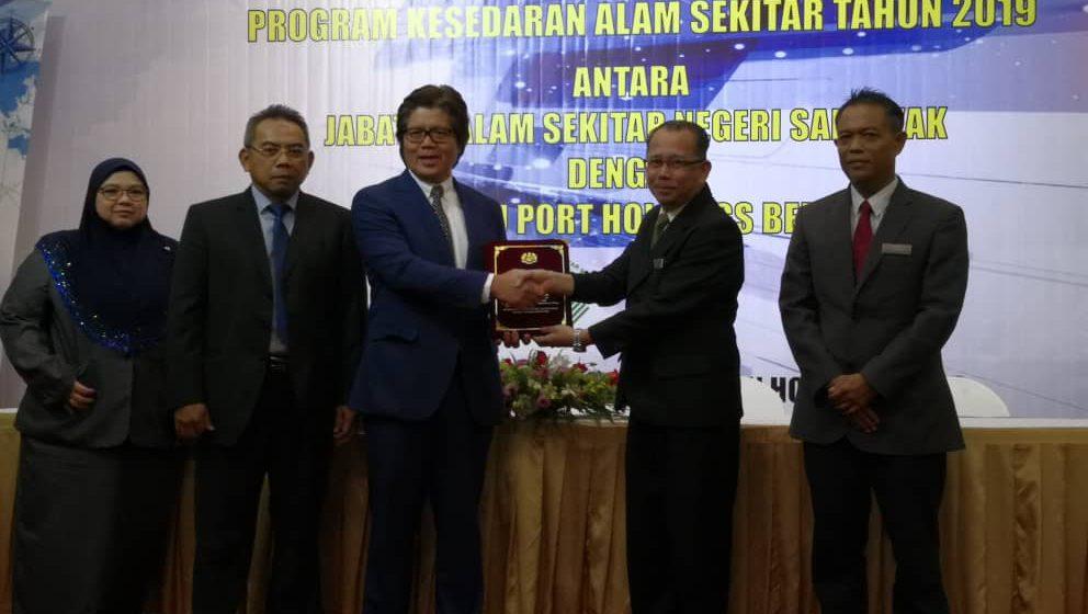 JAS dan Pelabuhan Bintulu bekerjasama menjaga alam sekitar