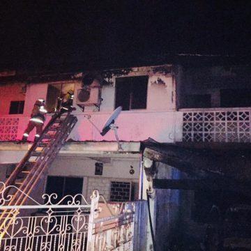 Lima terselamat termasuk seorang kanak-kanak perempuan