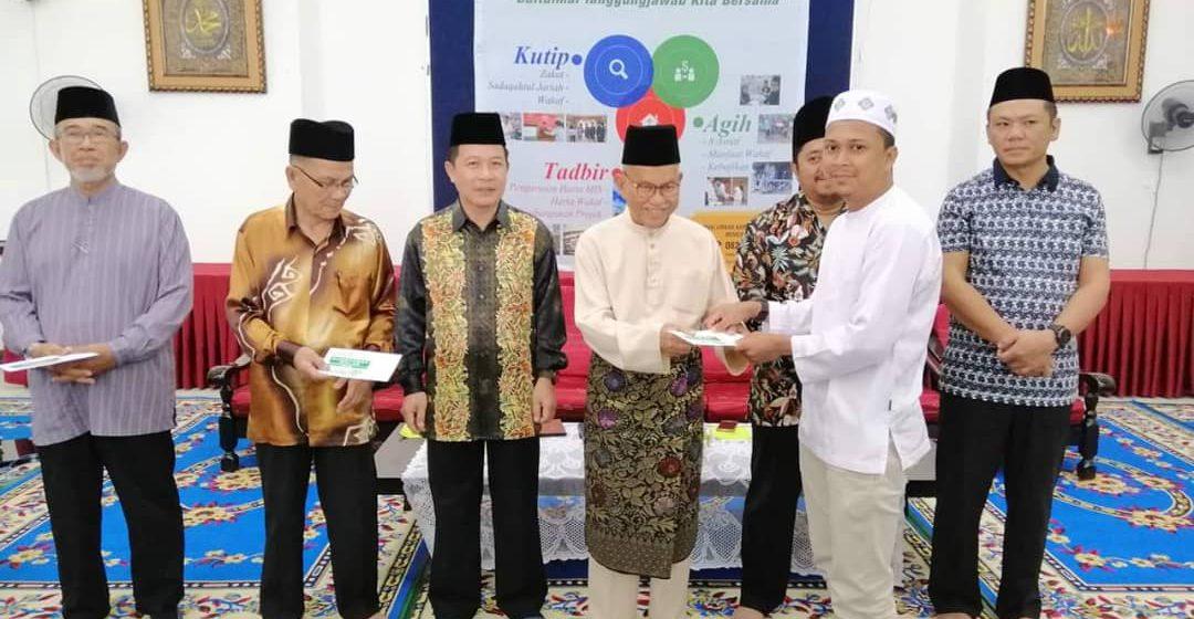 TBS serah sumbangan RM85,000 kepada 85 masjid, surau di Bintulu