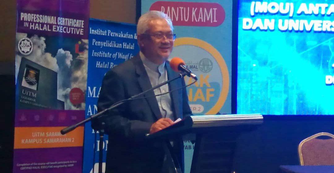 Makmal halal berkonsep wakaf pertama di Sarawak