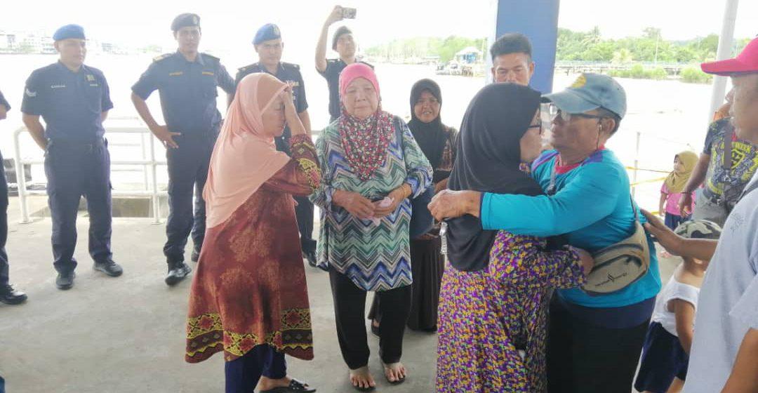 Nelayan dikhuatiri hilang ditemui selamat di Kuala Sibuti