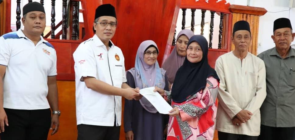 Razi tunai 'amanah' Kerajaan Sarawak, agih RM202,000