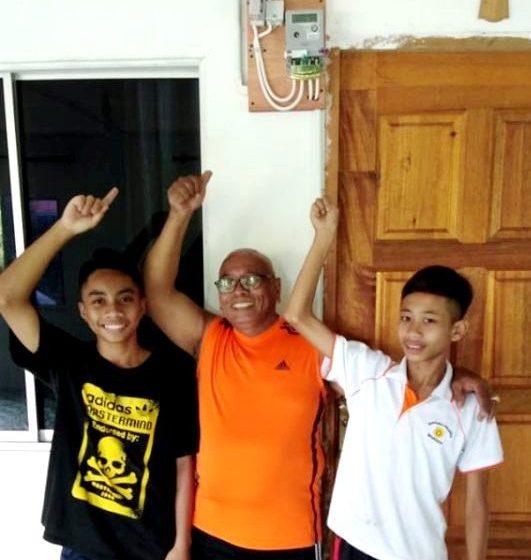 Gawai di Rumah Benet – Bukit Papit 'terang' taun tu