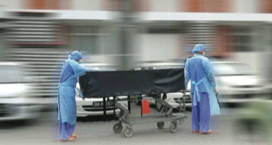 Wanita mati selepas beberapa jam sah jangkitan