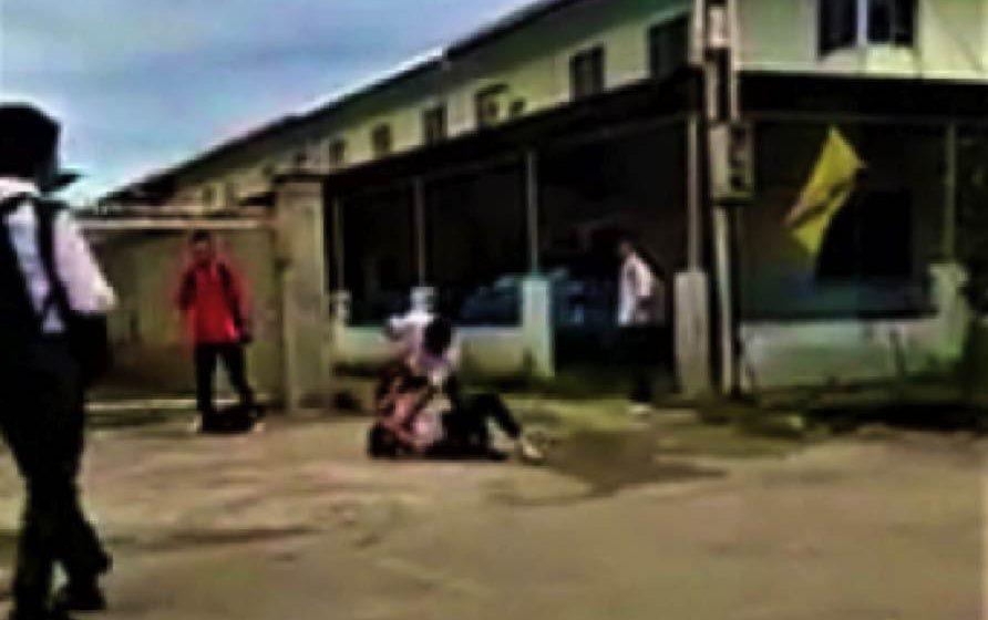 Video dua pelajar bergaduh tular