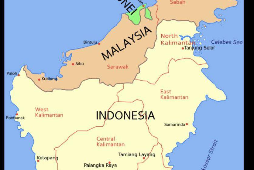 Ibu negara Indonesia pindah di Pulau Borneo 2021