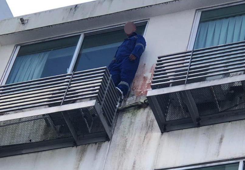 Pekerja hotel berjaya pujuk lelaki cuba bunuh diri