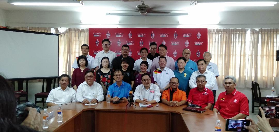 Kuching deka diangkat nyadi Tuai Pengerami Hari M'sia 2019