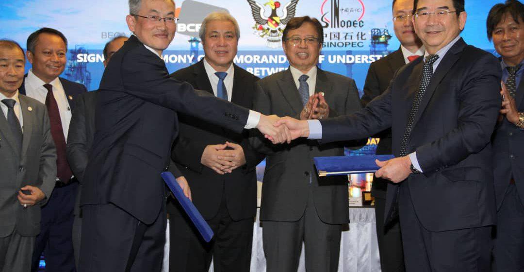 Projek petrokimia bertaraf dunia dibangun di Sarawak