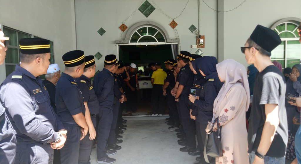 Bekas Ketua Jabatan JPJ Limbang meninggal dunia pagi tadi
