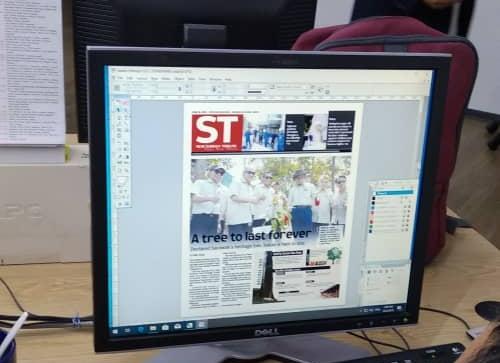 Tribune bertukar tabloid hari ini