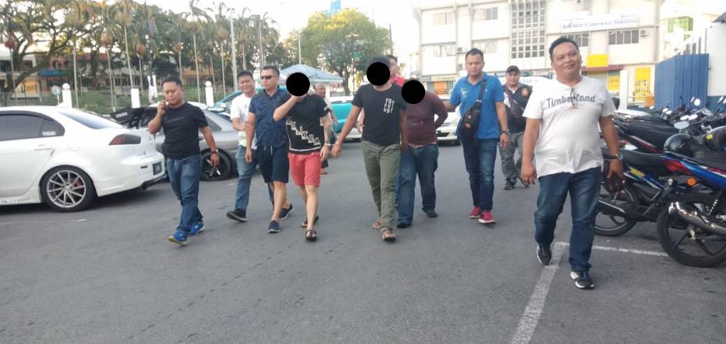 Polis tahan tiga lelaki terlibat kes rompak di Miri