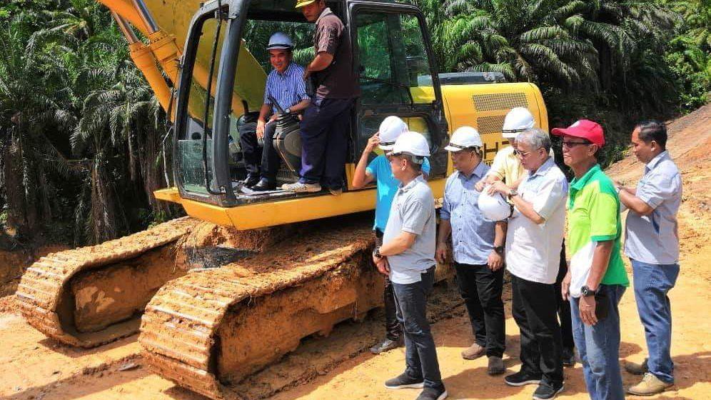 RM39 juta bina jalan alternatif ke lima rumah panjang