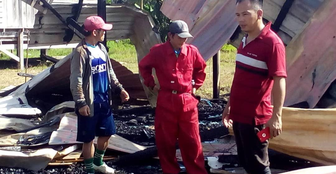 Jarak bukan penghalang anggota bomba bantu mangsa kebakaran di Long Adang