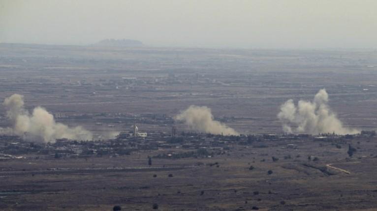 Israel serang Syria