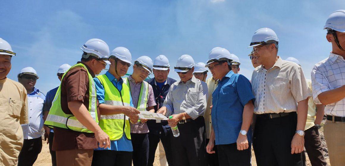 Pembinaan Jambatan Batang Lassa bermula