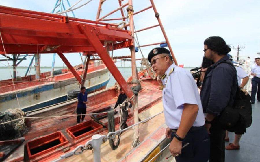 APMM menyamar untuk tangkap nelayan asing