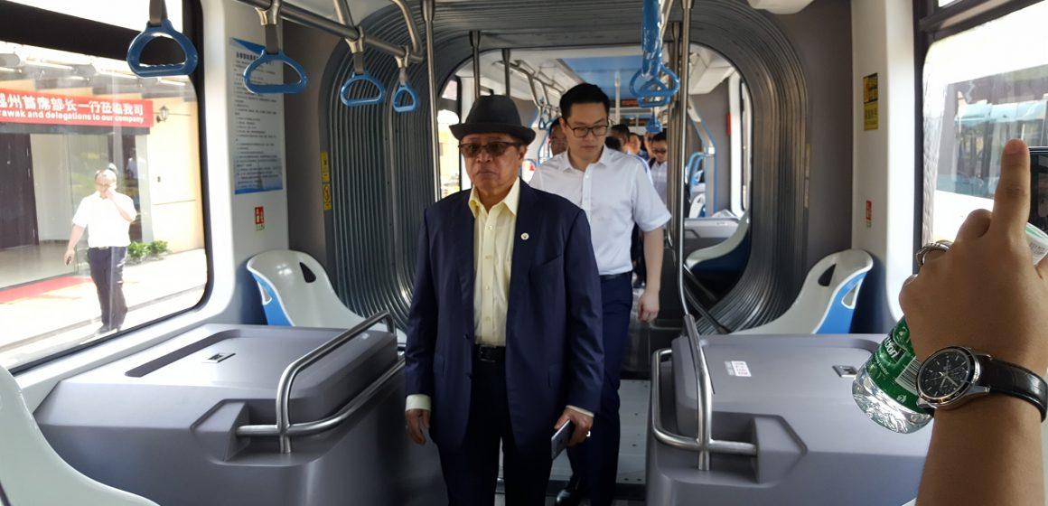 LRT Sarawak guna sistem ART
