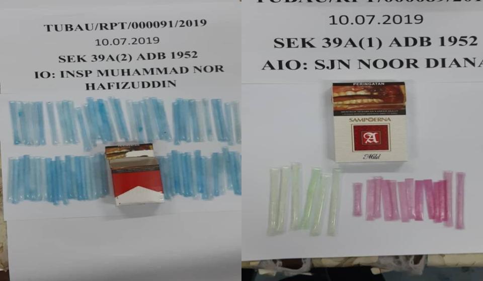 Dua lelaki ditahan bersama dadah syabu bernilai RM7,000