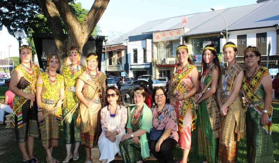 Tanda Nyalang Warriors bansa Berawan