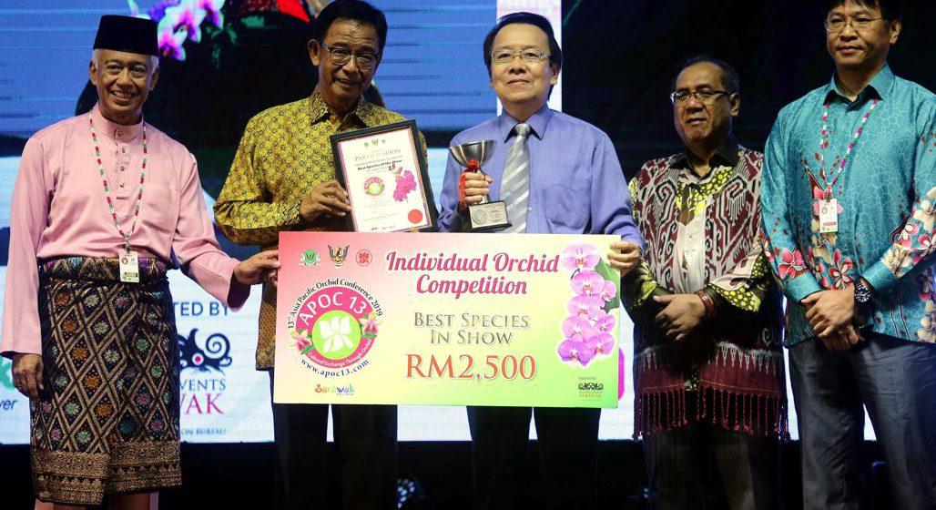 Persidangan orkid bawa Sarawak ke pentas dunia