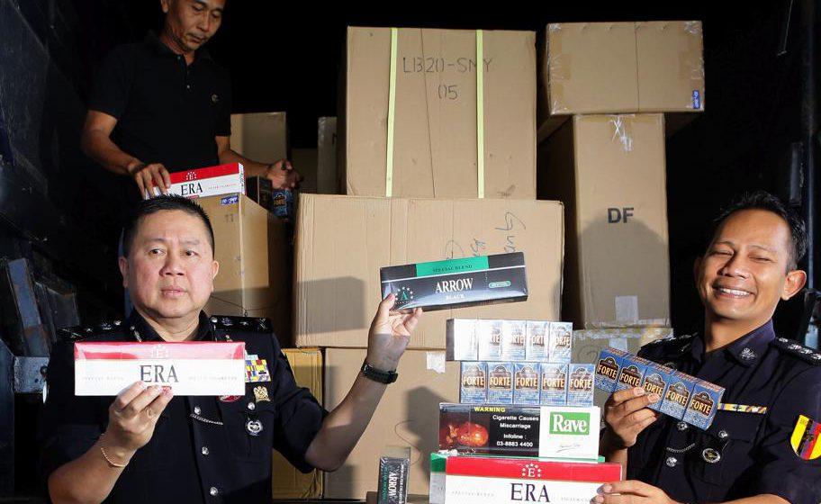 Rampas barangan tanpa cukai RM16.2 juta