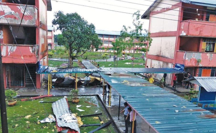 852 pelajar SMK Matang Hilir cuti kecemasan