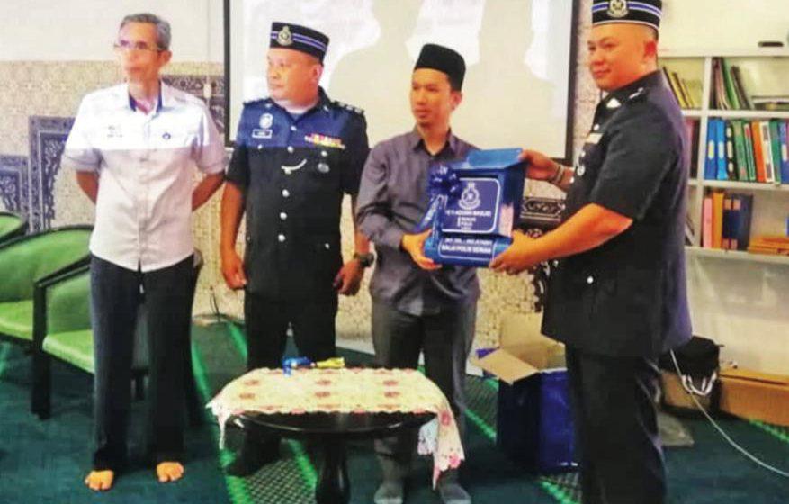 Mudahkan kerjasama polis, masjid