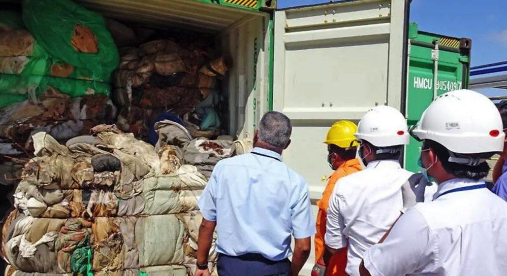 Sri Lanka hantar pulang sampah Britain