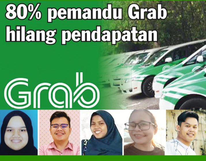 80 peratus pemandu Grab hilang kerja
