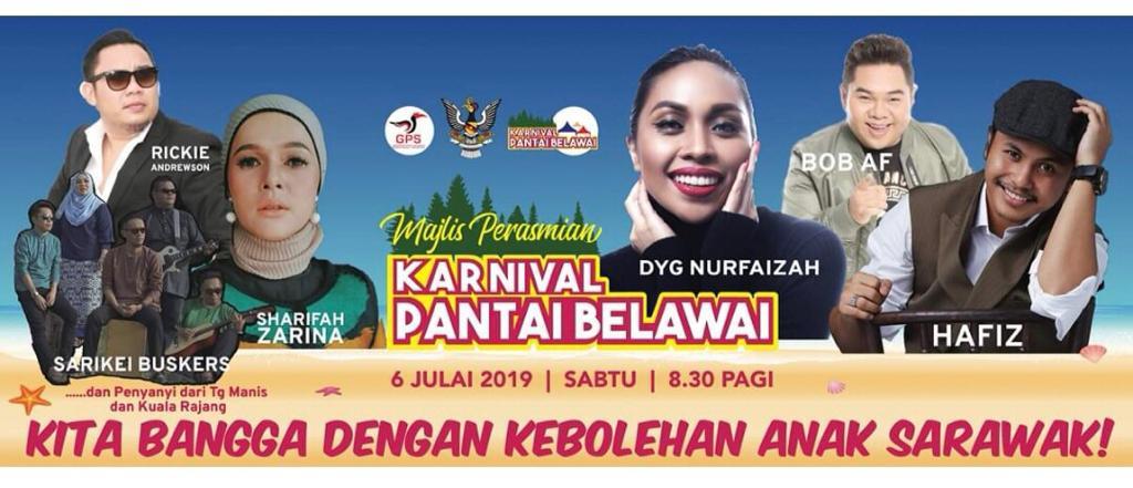 Karnival Pantai Belawai lubuk rezeki penduduk tempatan